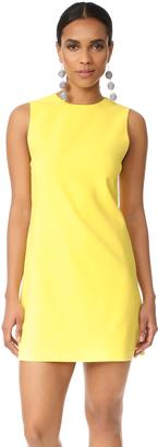 alice + olivia Coley Crew Neck A-Line Dress $275 thestylecure.com