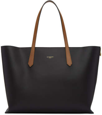 Givenchy Black GV Shopper Tote