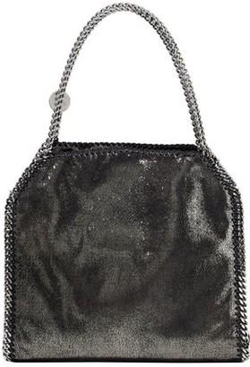 Stella McCartney Falabella Small Metallic Faux Brushed-leather Tote