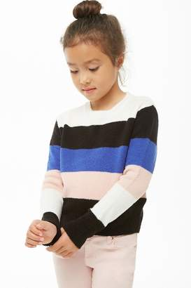 Forever 21 Girls Colorblock Sweater (Kids)