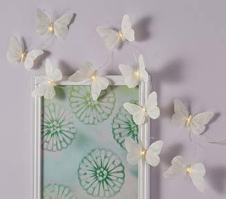 Pottery Barn Teen Feather Butterfly String Lights