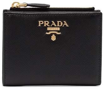 Prada Small Leather Logo Wallet