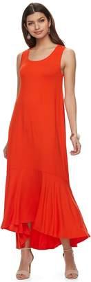 Apt. 9 Women's Ruffle High-Low Maxi Dress