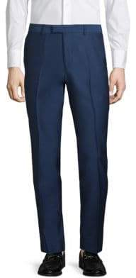 Extra Slim Fit Solid Trousers