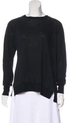 Etoile Isabel Marant Long Sleeve Crew Neck Sweatshirt
