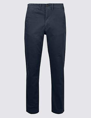 M&S Collection Slim Fit Cotton Rich Authentic Chinos