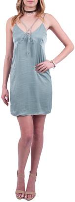 Everly Sage Slip Dress $49 thestylecure.com