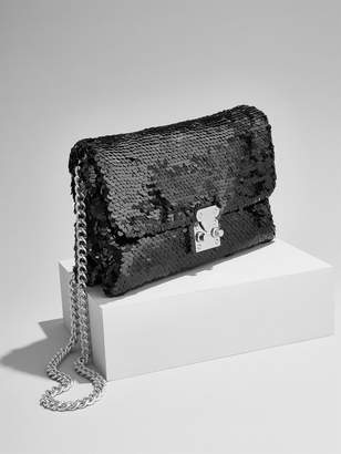 BaubleBar Sequin Crossbody Bag