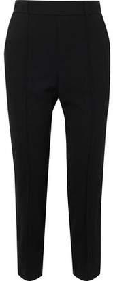 Vince Cropped Crepe Slim-leg Pants