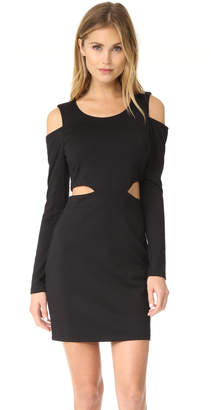 Bobi Black Cutout Dress