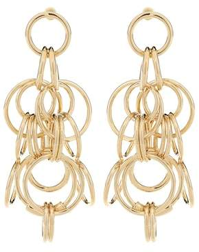 Chloé Drop hoop earrings