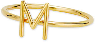 Sarah Chloe Amelia Initial Monogram Ring in 14k Gold