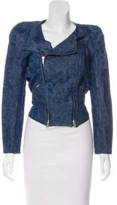 Etoile Isabel Marant Denim Zip-Up Jacket