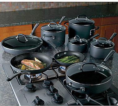 Calphalon Simply 14-pc. Nonstick Cookware Set + BONUS