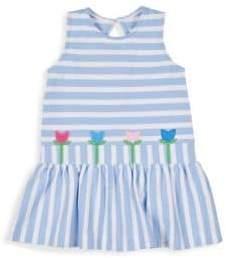 Florence Eiseman Litte Girl's Stripe Pique Knit Dress