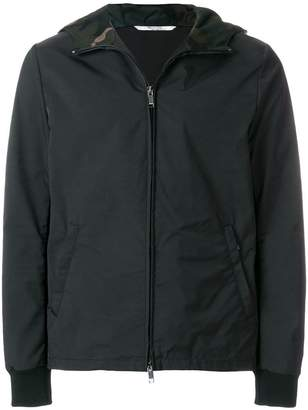 Valentino camouflage hood jacket