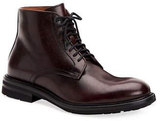 Aquatalia Men's Renzo Waterproof Leather Lace-Up Boots