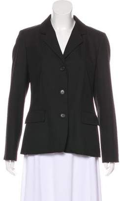 Barneys New York Barney's New York Notch-Lapel Structured Blazer
