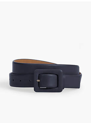 Talbots Leather Belt - Nappa Leather