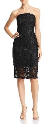 Adelyn Rae Healy Strapless Lace Dress