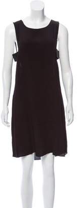 Veda Judd Leather-Accent Dress