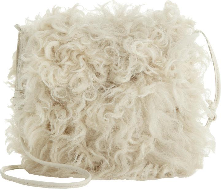 Bonpoint Fur Shoulder Bag