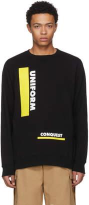 Sacai Black Uniform Conquest Sweatshirt