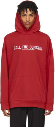 Midnight Studios Red Call The Curtain Hoodie