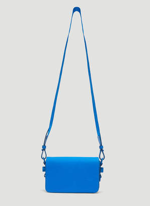 Off-White Off White Neon Mini Flap Bag in Blue