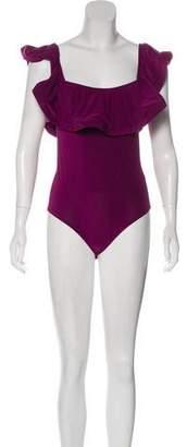 MISA Los Angeles Off-The-Shoulder Bodysuit