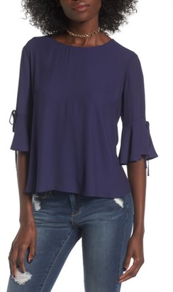 Women's Lush Bell Sleeve Tee $35 thestylecure.com