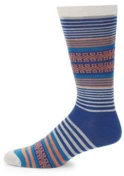 UGG Striped Crew Socks