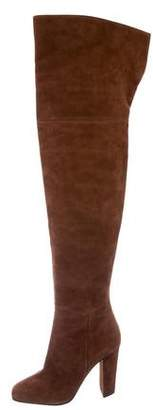 Giuseppe Zanotti Suede Thigh-High Boots