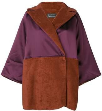 Gianluca Capannolo oversized wrap style coat