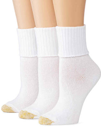 Gold Toe GoldToe 3-pk. Bermuda Casual Socks