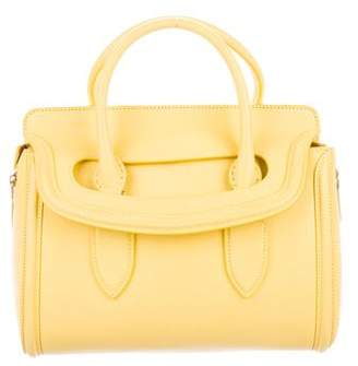 Alexander McQueen Smooth Leather Handle Bag