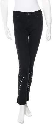 IRO Cutout Straight-Leg Jeans