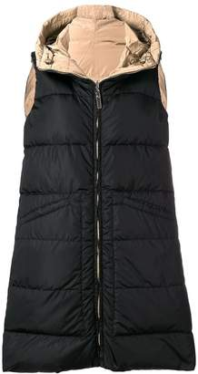 Max Mara 'S reversible long padded gilet