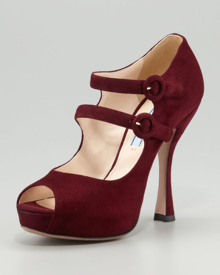 Prada Mary Jane Platform Pump