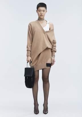 Alexander Wang OVERSIZED KNIT TUNIC Short Dress