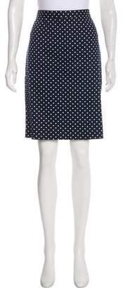 Draper James Polka Dot Knee-Length Skirt