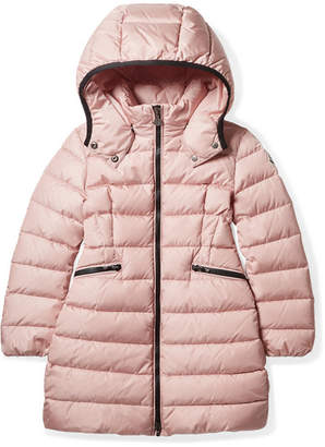 Moncler Ages 4 - 6 Charpal Hooded Quilted Shell Down Coat