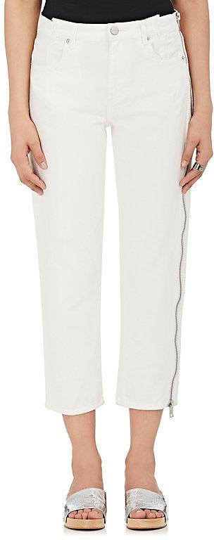 3.1 Phillip Lim3.1 Phillip Lim Women's Side-Zip Crop Jeans