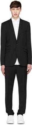 Tiger of Sweden Black Nedvin Suit $900 thestylecure.com