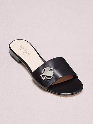 Kate Spade Ferry Slide Sandals, Black - Size 5