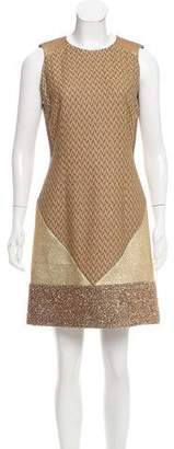 Missoni Metallic Sheath Dress