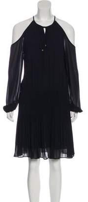 MICHAEL Michael Kors Cutout Knee-Length Dress