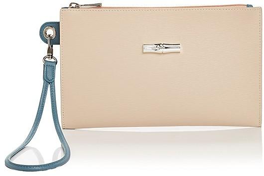 LongchampLongchamp Roseau Flat Leather Cosmetic Case