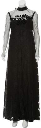Fendi Floral Evening Dress w/ Tags
