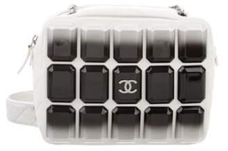 Chanel Evening Art Camera Bag White Evening Art Camera Bag